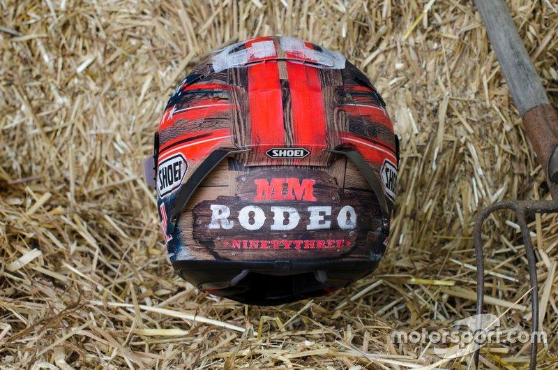 Marc Marquez, Repsol Honda Team, casco diseño especial GP Américas