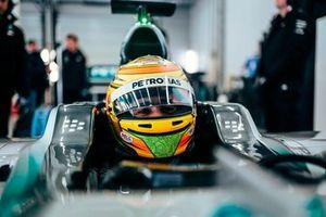 Esteban Gutiérrez, Mercedes AMG W06 piloto de desarrollo