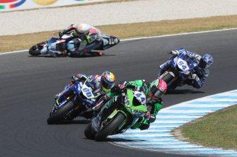 Lucas Mahias, Kawasaki Puccetti Racing, Hannes Soomer, crash