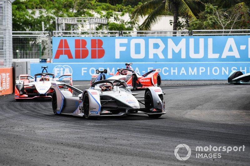 Edoardo Mortara, Venturi Formula E, Venturi VFE05, Jérôme d'Ambrosio, Mahindra Racing, M5 Electro, Pascal Wehrlein, Mahindra Racing, M5 Electro