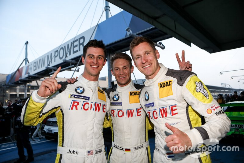 Winners #99 ROWE Racing BMW M6 GT3: Nick Catsburg, Marco Wittmann, John Edwards