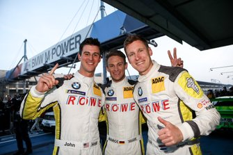 Winners #99 ROWE Racing BMW M6 GT3: Nick Catsburg, Marco Wittmann, John Edwards