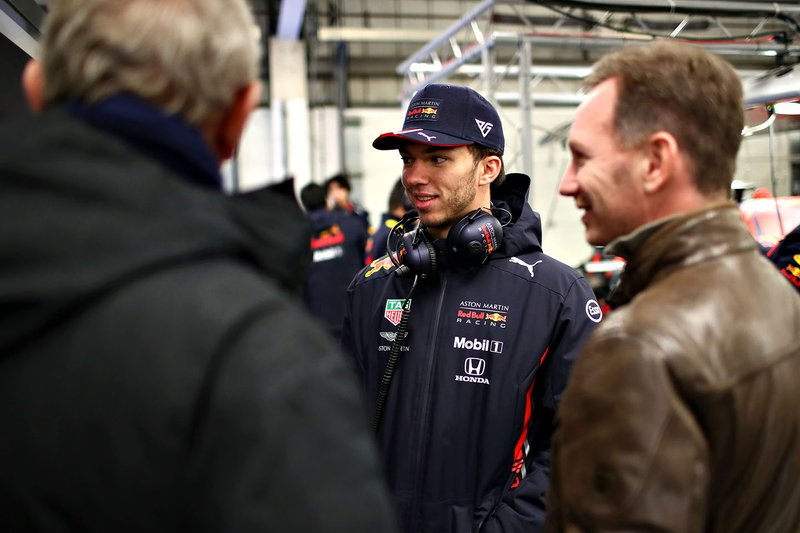 Pierre Gasly, Red Bull Racing, Christian Horner, Team Principal, Red Bull Racing