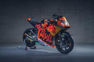 La moto de Brad Binder, Red Bull KTM Ajo