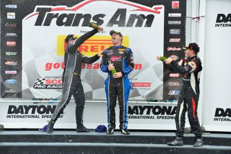 TA2 Podium finishers Marc Miller, Tony Buffomante, and Louis-Phillippe Montour