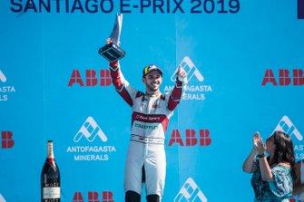 Daniel Abt, Audi Sport ABT Schaeffler fête sa troisième place sur le podium