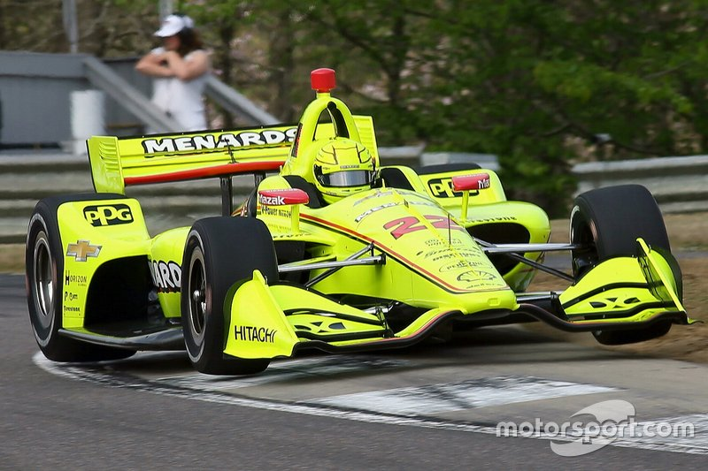 9. Simon Pagenaud, Team Penske Chevrolet