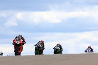 Chaz Davies, Aruba.it Racing-Ducati Team, Jonathan Rea, Kawasaki Racing, Leon Haslam, Kawasaki Racing, Alex Lowes, Pata Yamaha
