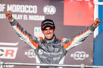 Podium: third place Mikel Azcona, PWR Racing CUPRA TCR