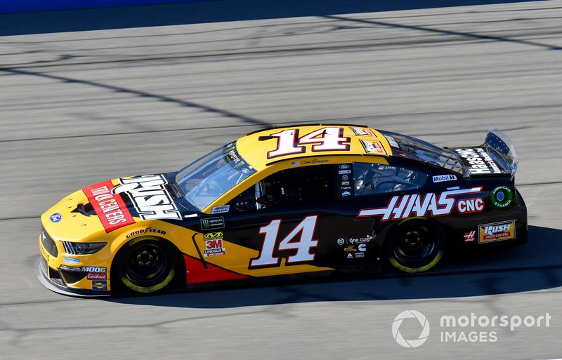 9. Clint Bowyer, Stewart-Haas Racing, Ford Mustang Rush Truck Centers/Haas Automation