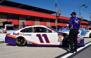 Denny Hamlin, Joe Gibbs Racing, Toyota Camry FedEx Express