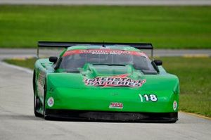 #18 MP1A Chevrolet Corvette driven by Juan Vento and Frank Eiroa of JV Racing