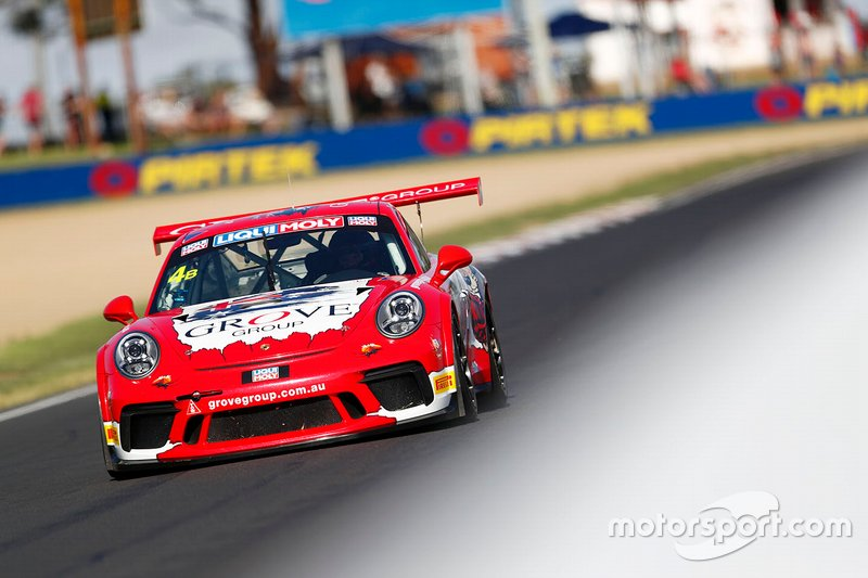 16. #4 Grove Racing Porsche 911 GT3 Cup: Stephen Grove, Brenton Grove, Benjamin Barker
