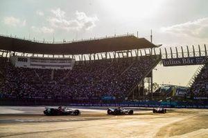 Pascal Wehrlein, Mahindra Racing, M5 Electro Oliver Rowland, Nissan e.Dams, Nissan IMO1, Lucas Di Grassi, Audi Sport ABT Schaeffler, Audi e-tron FE05