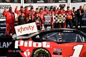Michael Annett, JR Motorsports, Chevrolet Camaro Chevrolet Pilot Flying J / American Heart Association wins