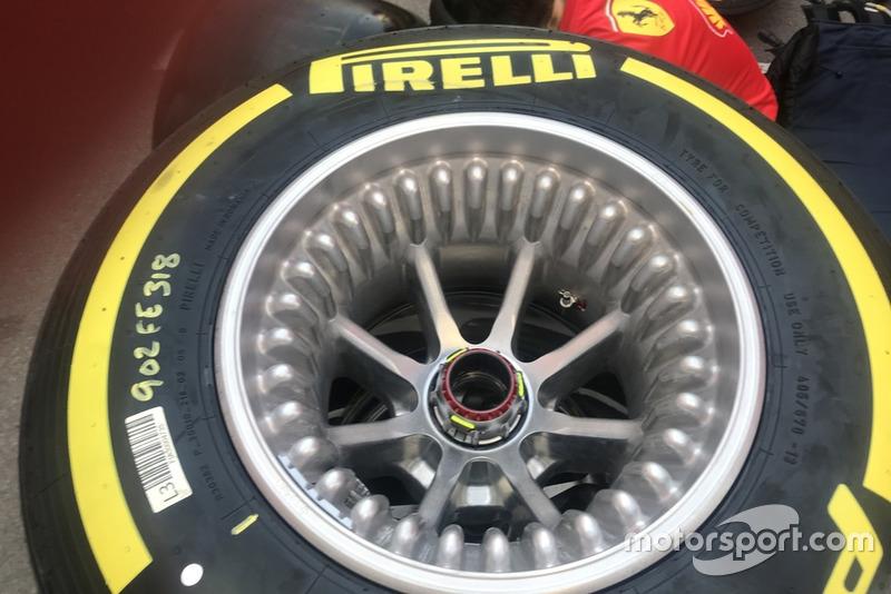 Neumáticos Ferrari