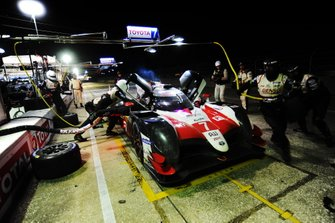 #7 Toyota Gazoo Racing Toyota TS050: Mike Conway, Jose Maria Lopez, Kamui Kobayashi