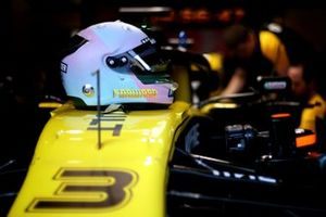 Test Helmet of Daniel Ricciardo, Renault F1 Team