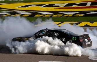 Kyle Busch, Joe Gibbs Racing, Toyota Supra Extreme Concepts/iK9 celebrates his win