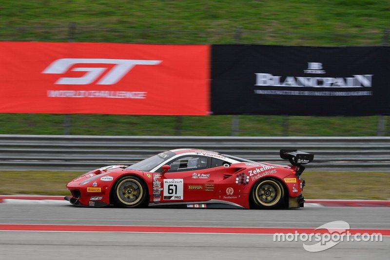 #61 Miguel Molina, Toni Vilander, R. Ferri Motorsport, Ferrari 488 GT3