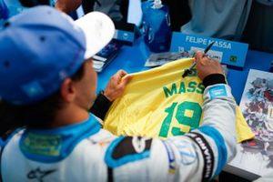 Felipe Massa, Venturi Formula E at the autograph session