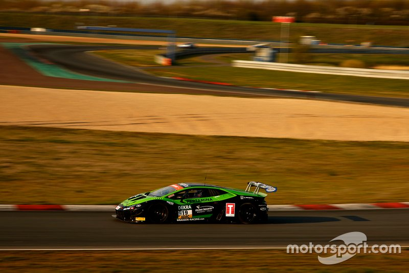 #19 Orange1 by GRT Grasser Lamborghini Huracán GT3: Michele Beretta, Marco Mapelli