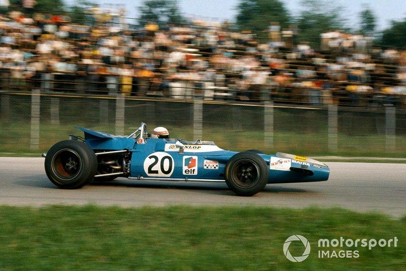5 - Com vitória na Bélgica, Schumacher igualou recorde estabelecido por Jackie Stewart no GP da Itália de 1969