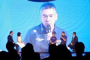 Президент Yamaha Motor Racing Коити Тсудзи