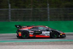 #102 Lamborghini Huracan SuperTrofeo GT Light, Antonelli Motorsport: Cristoni-Michelotto-Demarchi