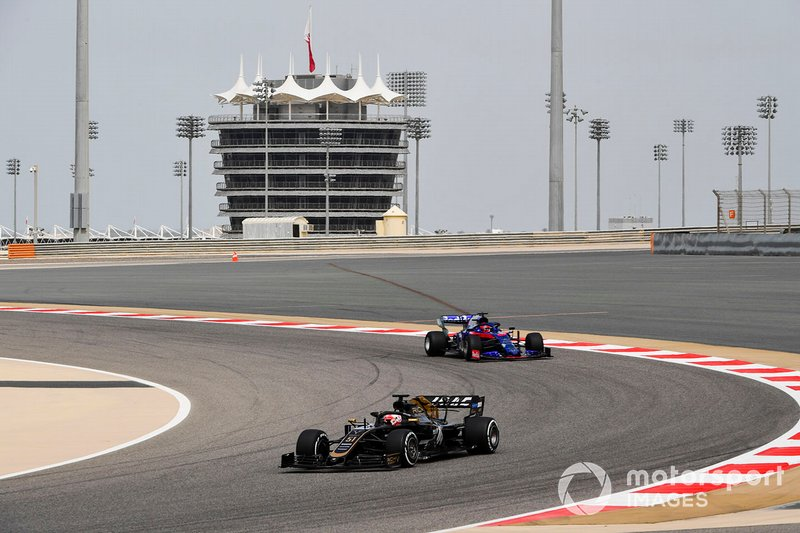 Pietro Fittipaldi, Haas F1 Team VF-19, Daniil Kvyat, Toro Rosso STR14