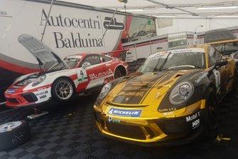 Le Porsche di Giovanni Berton e Stefano Monaco, AB Racing