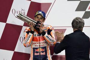 Podium: Marc Marquez, Repsol Honda Team