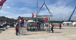Pit Building Modular Pertamina Mandalika International Street Circuit
