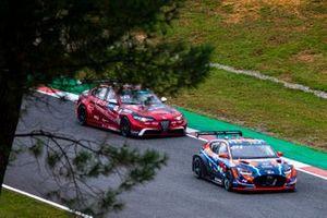 Oliver Webb, Romeo Ferraris-M1RA, Alfa Romeo Giulia ETCR, John Filippi, Hyundai Motorsport N, Hyundai Veloster N ETCR