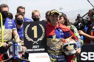 Dominique Aegerter, Ten Kate Racing Yamaha Campeón del Mundo 2021