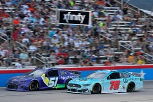 Cody Ware, Petty Ware Racing, Chevrolet Camaro, B.J. McLeod, Live Fast Motorsports, Ford Mustang Surface Sunscreen