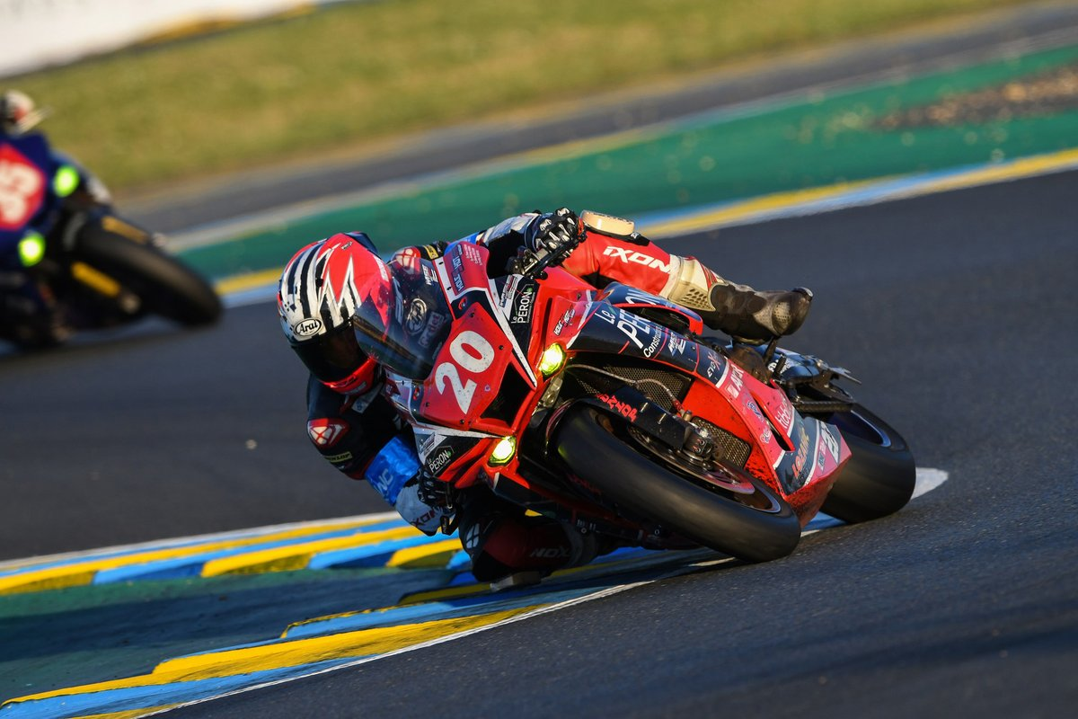 #20 Moto Sport: Anthony Simon, Youenn Le Bras, Freddy Dubourg