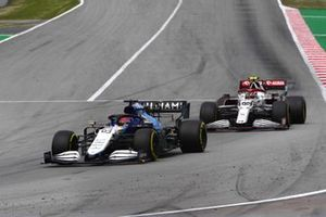 George Russell, Williams FW43B, Antonio Giovinazzi, Alfa Romeo Racing C41