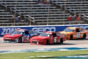 Ryan Vargas, JD Motorsports, Chevrolet Camaro Swann Security / Best Buy, Landon Cassill, JD Motorsports, Chevrolet Camaro Solomon Plumbing