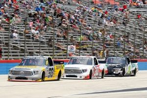 Grant Enfinger, ThorSport Racing, Toyota Tundra Champion/Curb Records, Brennan Poole, On Point Motorsports, Toyota Tundra, Hailie Deegan, Team DGR, Ford F-150 Toter