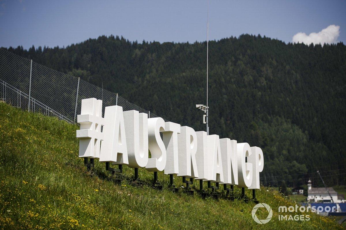 El logo del GP de Austria