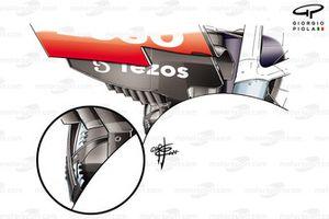 Зубчатая кромка диффузора Red Bull Racing RB16B