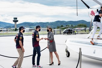 Max Verstappen and Sergio Perez, Red Bull Racing