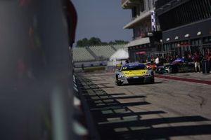 #12 Audi Sport Italia, Audi R8 LMS GT3 Evo: Riccardo Agostini-Lorenzo Ferrari