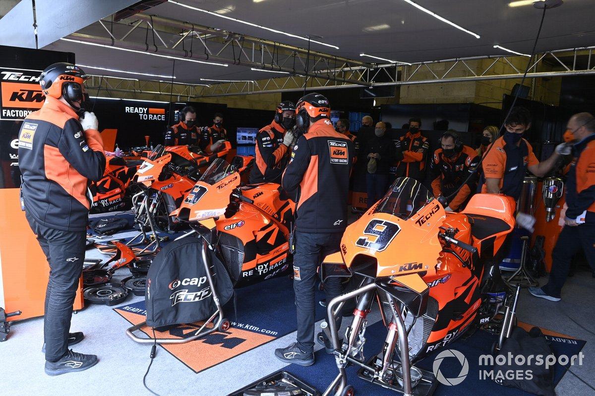 Motos KTM Tech3