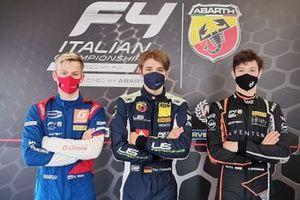 Kiril Smal, Prema Powerteam, Tim Tramnitz, US Racing e Oliver Bearman, Van Amersfoort Racing