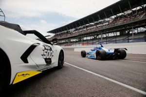 Sage Karam, Dreyer & Reinbold Racing Chevrolet, et la Corvette Pace Car