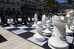 Societe des Bains de Mer giant chess set