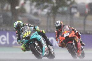 Valentino Rossi, Petronas Yamaha SRT, Miguel Oliveira, Red Bull KTM Factory Racing