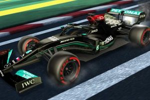 Decoración de la F1 en Rocket League